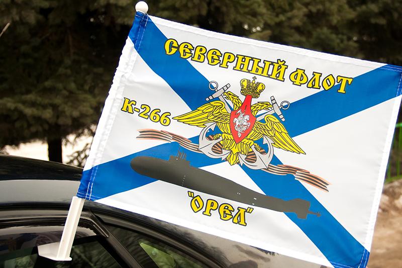 Купить флаг на машину К-266 «Орел»