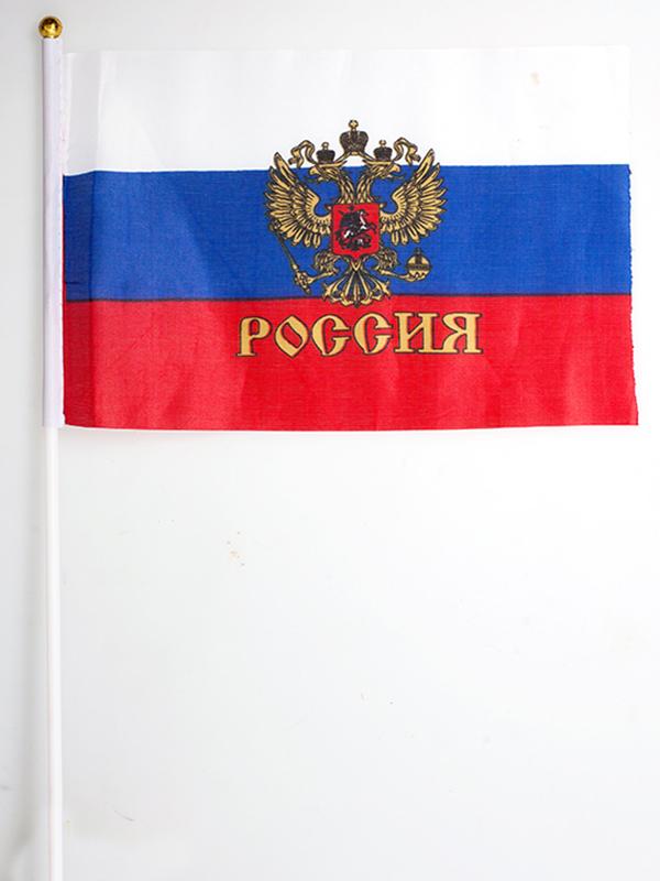 Купить флажки России на палочке