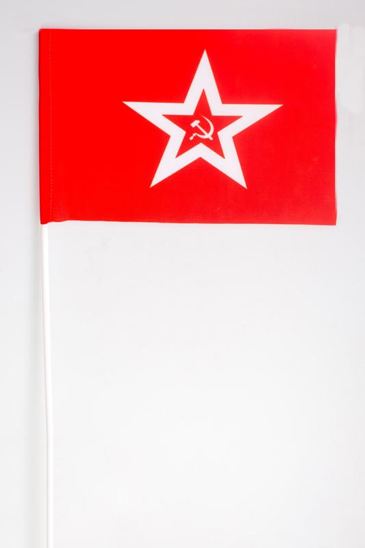 Купить флажки на палочке «Гюйс ВМФ СССР»