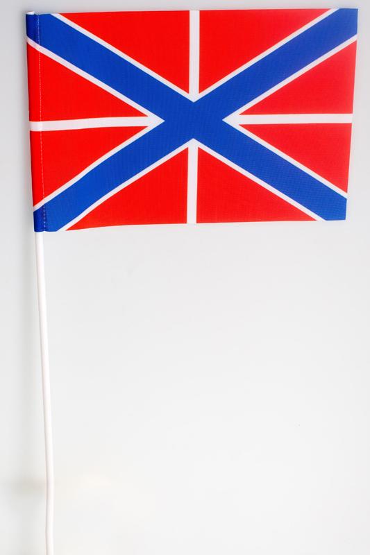 Купить флажок на палочке «Гюйс ВМФ РФ»
