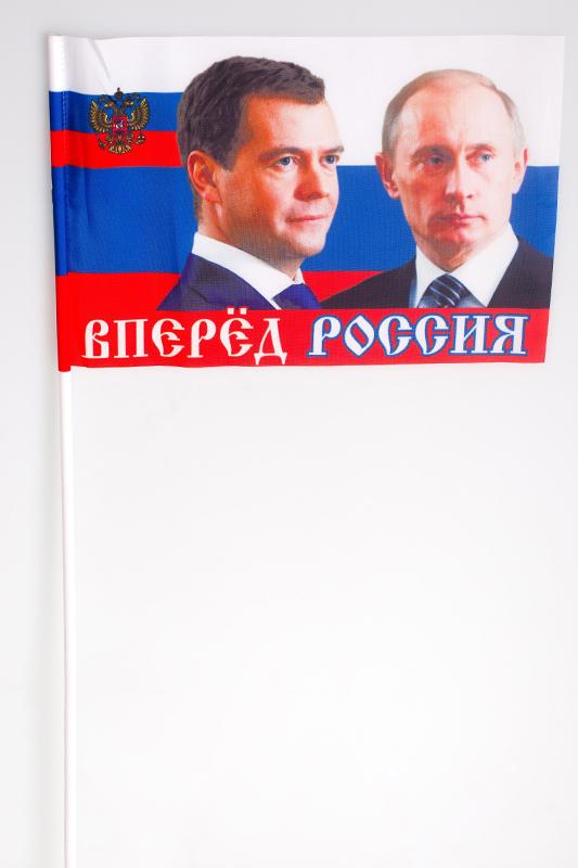 Купить флажок на палочке «Президентский»