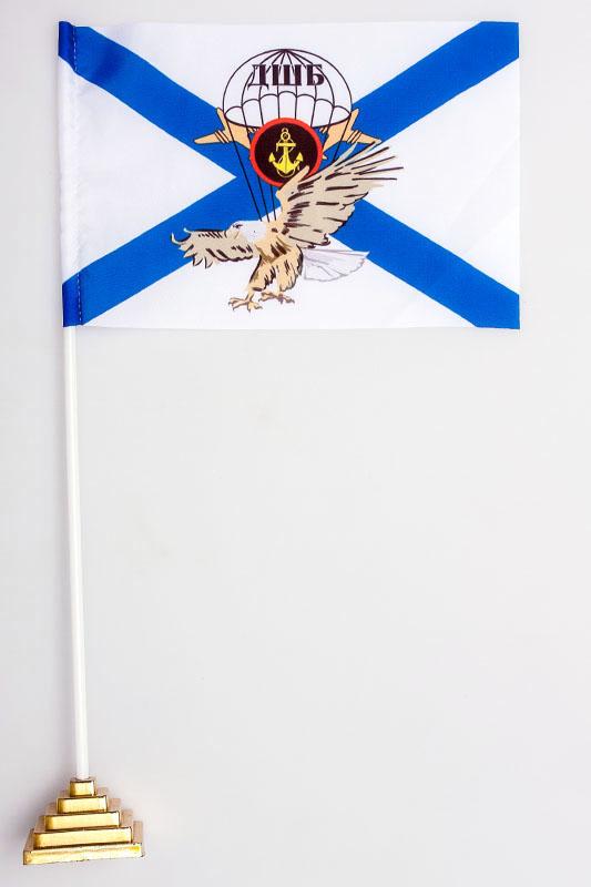 Купить флажок настольный ДШБ Морской пехоты