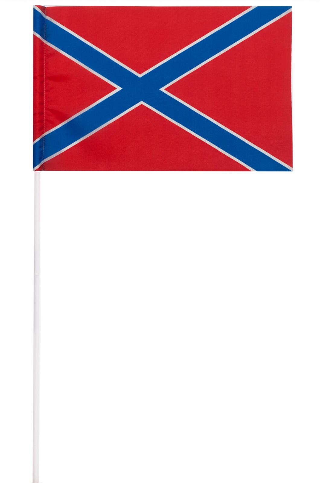 Купить флажок Республики Новороссия в качестве махательного флажка
