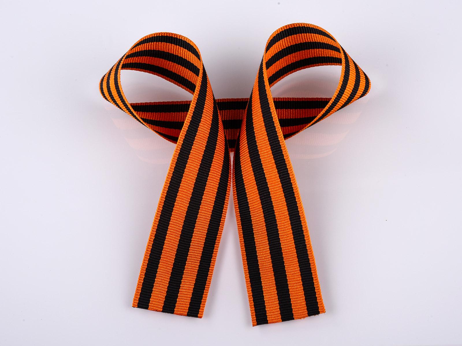 Георгиевская лента стала традиционным символом Победы в современной России