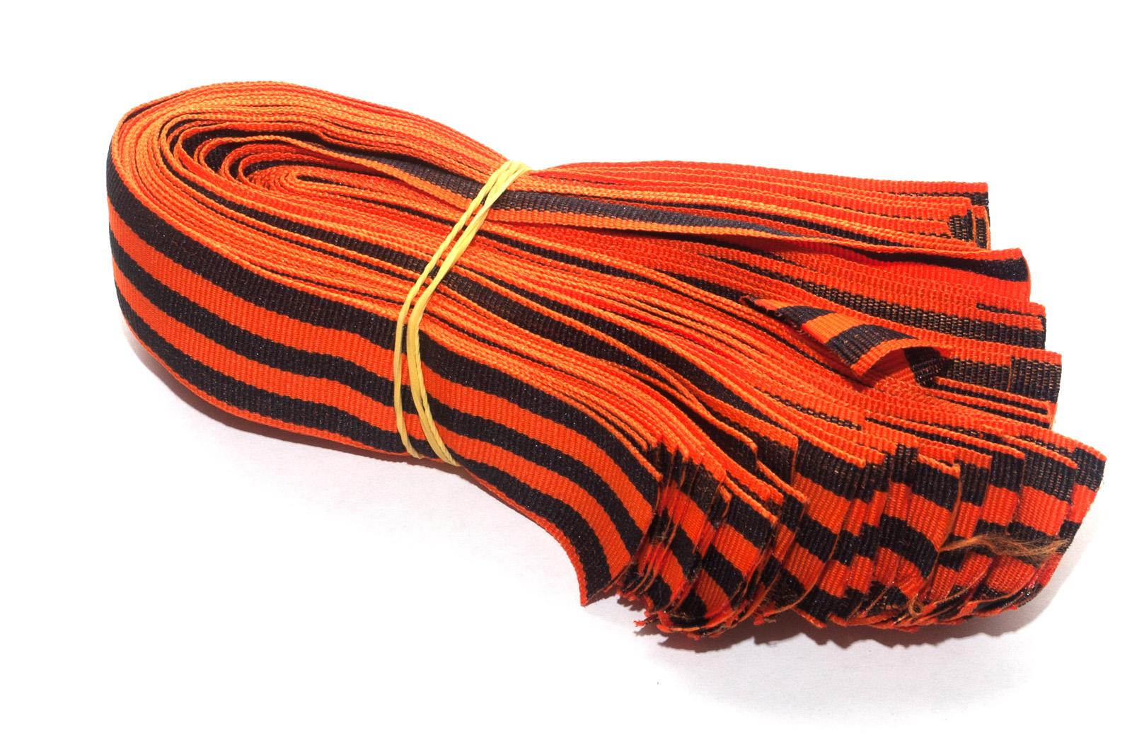 Недорогие Георгиевские ленточки на День Победы оптом и в розницу