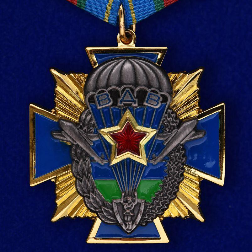 Описание ордена ВДВ на колодке