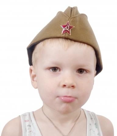 Солдатская пилотка для детей - отличный подарок на 9 мая и другие праздники