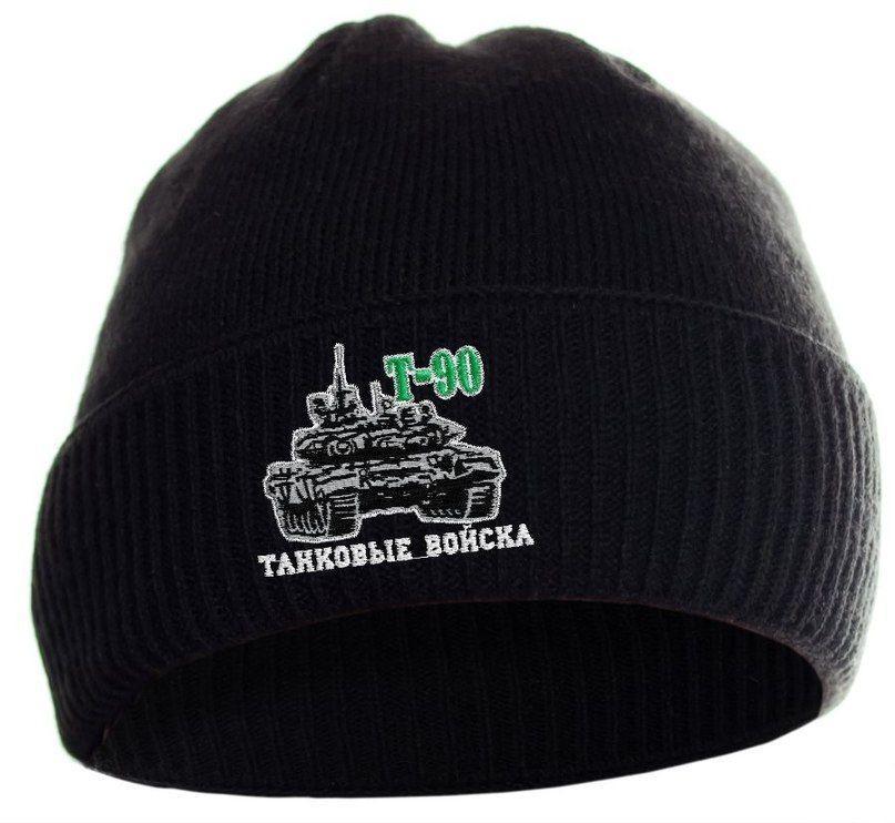 Теплая шапочка с танком для самой холодной зимы