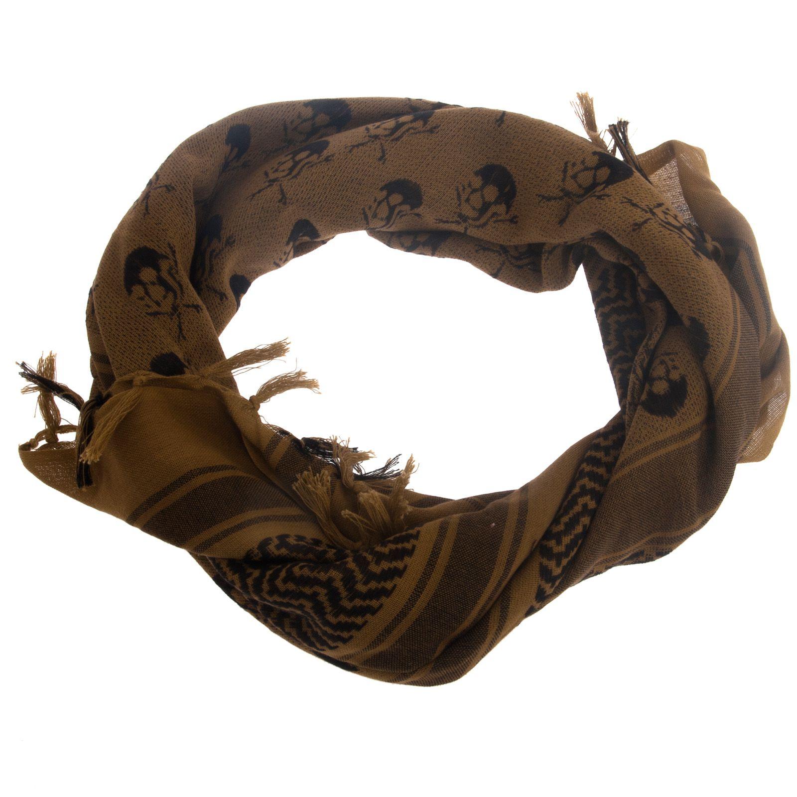 Шемаг, скрученный шарфом