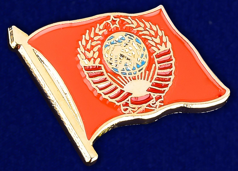 Купить значок СССР с гербом