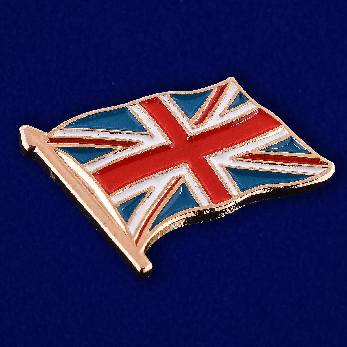 Купить значок Великобритания